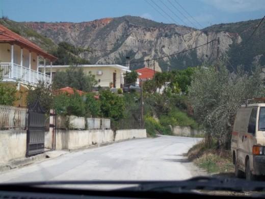 Corinthian mountains