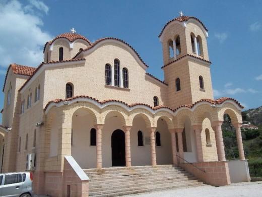 Greek Orthodox Church in the Corinthian mountains