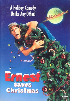 Ernest saves Christmas and puts it on display for the whole world