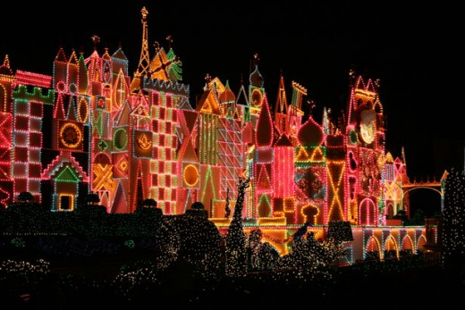 Disney's It's A Small World At Christmas