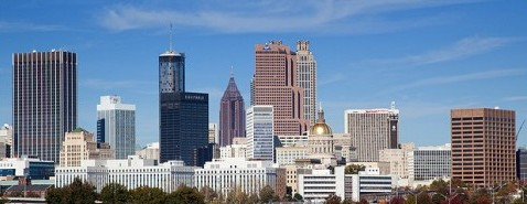 Beautiful Atlanta Skyline