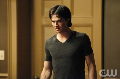 "Somerhalder is doing some lethal plotting on ""The Vampire Diaries."""