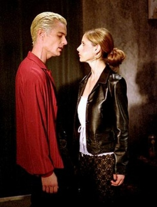 """The wicked Marsters proved a decent romantic foil for Gellar on """"Buffy the Vampire Slayer."""""""