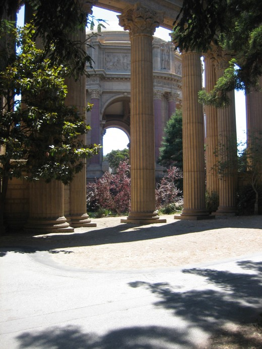 More Columns at Palace of Fine Arts