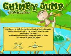 Chimpy Jump: Horrifying and Disgusting Free Online Game
