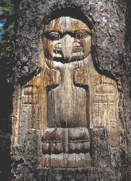 One of the power animals of a group long lived in this region - likely Hoonah Tlingit (Hoonah is a city name as well) or the Ghunaaxhoo Kwaan group of the Yakutat Tlingit.