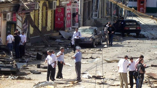 another day's bombing in Dagestan