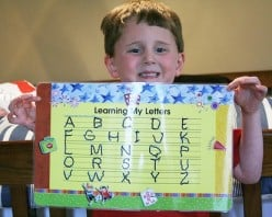 Learning Capital Letters