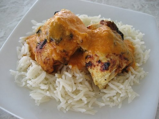 Grilled Chicken with Yoghurt
