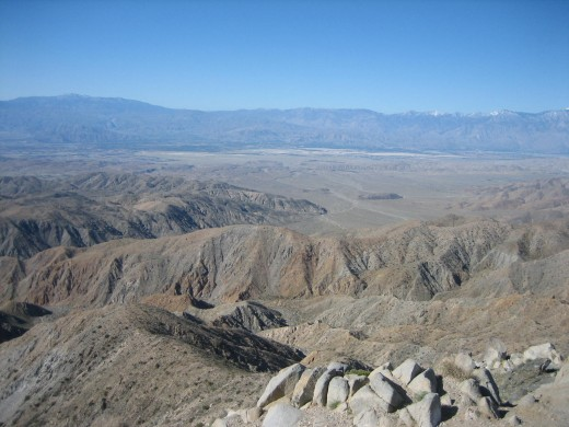 A View Toward Salton's Sea
