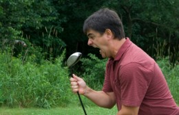 golf can be very frustrating