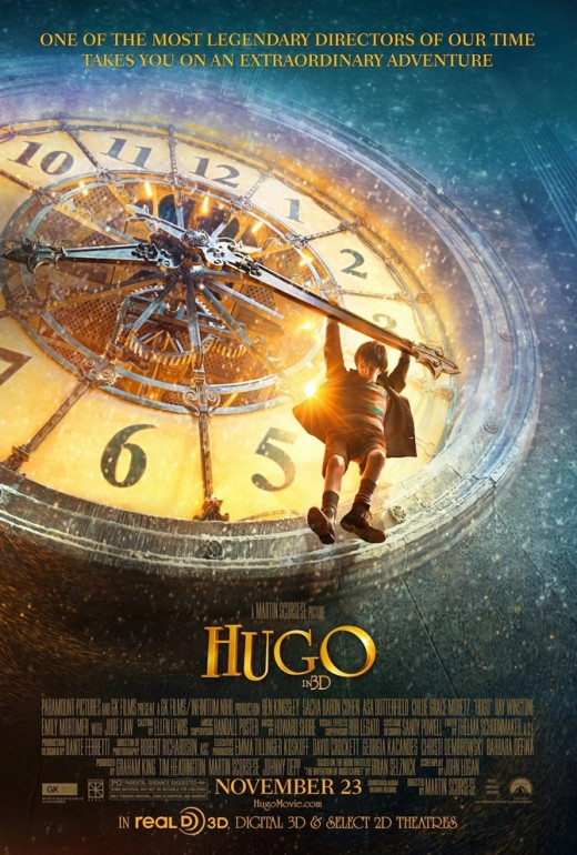 """Hugo"" ~ movie directed by Martin Scorsese and starring Asa Butterfield as Hugo, Co-starring Chloe Grace Moretz as ""Isabelle."""