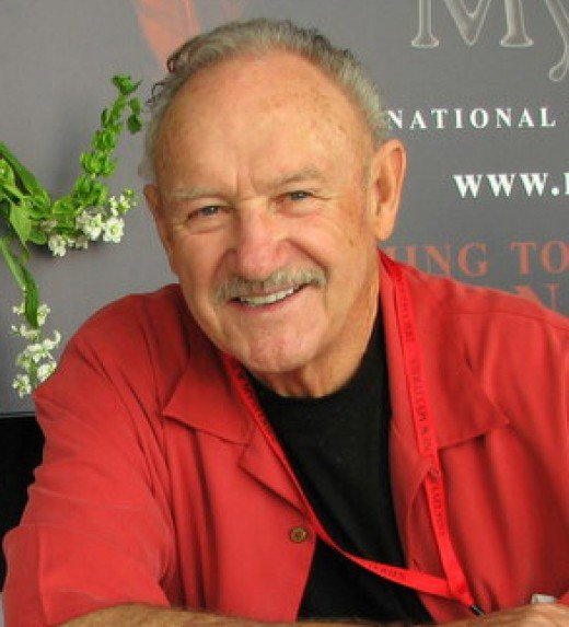 Gene Hackman at a book signing in 2008