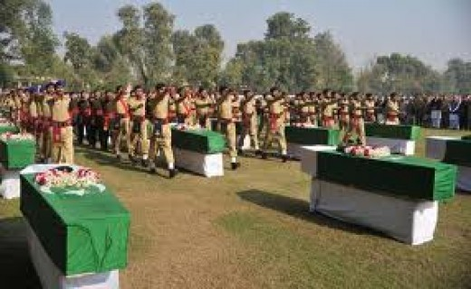 The Pak army dead