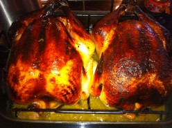 Barbecue Turkey With Aromatics