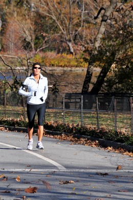 Getting outside on a beautiful autumn day can be a great motivating factor for running
