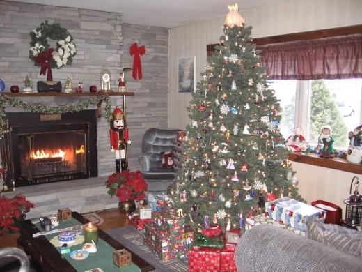 My main Christmas tree.