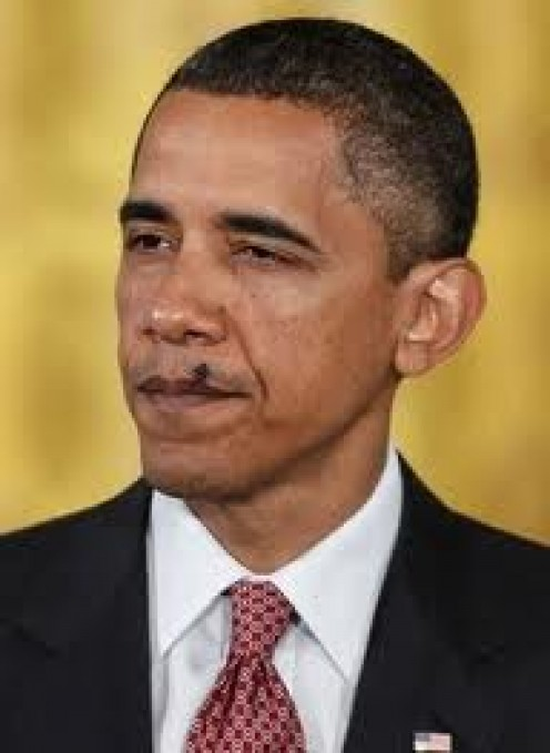 FLIES ARE NO RESPECTER OF PERSON. SEE THIS FLY ON PRESIDENT OBAMA'S LIPS?