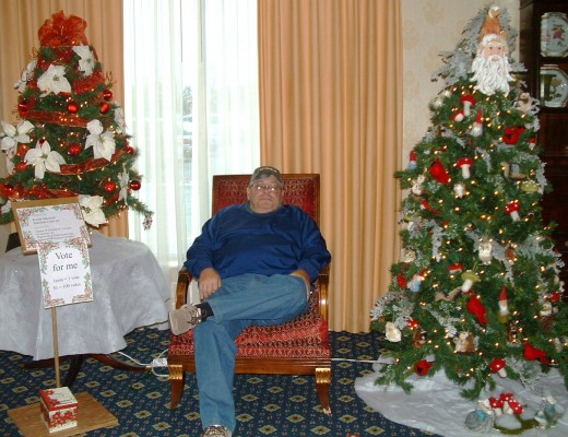 My husband, Fred, patiently waiting for me to finish the photo shoot. Oh how I love this man!