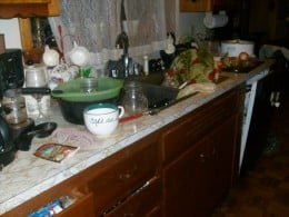More of my messy kitchen