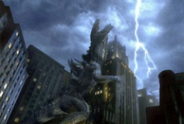 So this is what it has come down to... Godzilla humping a building.