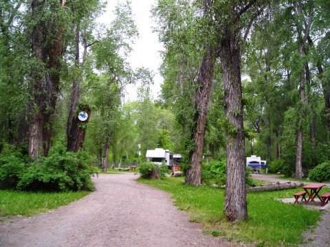 Just one of many beautiful RV parks in Chama