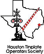 The Houston TInplate Operator's Society logo was designed and voted on by the train club members.