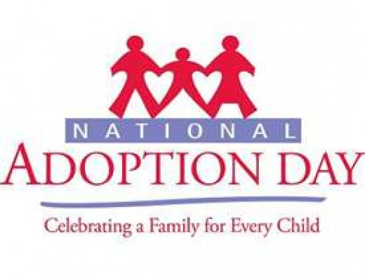 November 22, 2014 is National Adoption Day. On National Adoption Day a number of courts and communities in the United States come together to finalize thousands of adoptions of children from foster care.