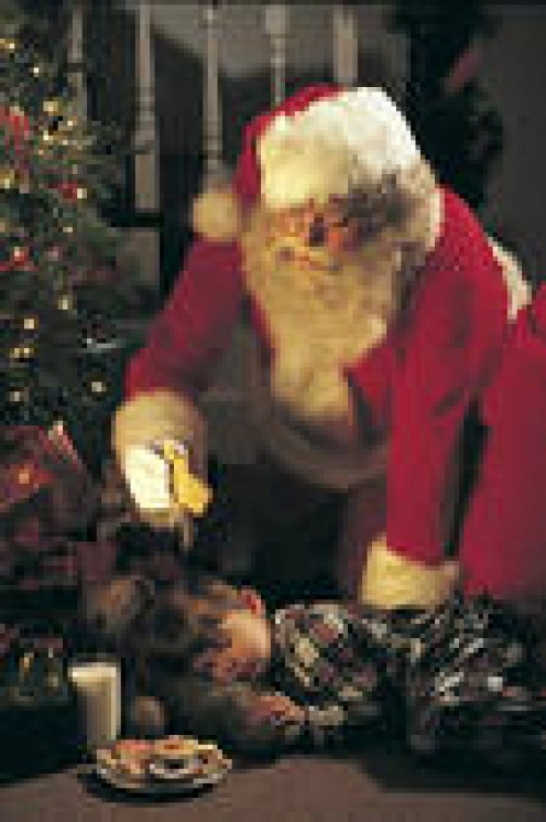 SANTA IS A MASTER-TECHNICIAN AT PLACING THE RIGHT GIFT WITH THE RIGHT CHRISTMAS LETTER FROM A LITTLE GIRL OR BOY.