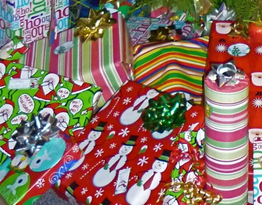 wrapping paper is needed