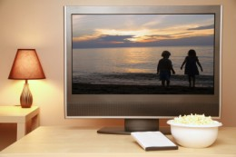 Enjoy home theater! } image credit: iStockphoto sdominick