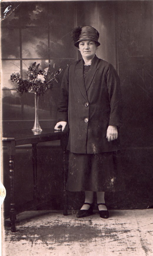 My Great Grandmother - and I actually see one of my sisters in her face.