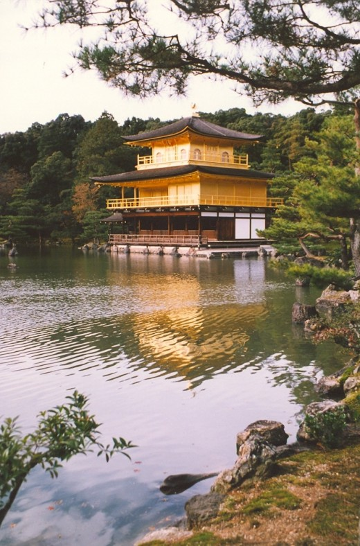 Kinkaku-ji, The Golden Pavilion.