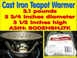 Cast Iron Teapot Warmer helps with Emergency Preparedness