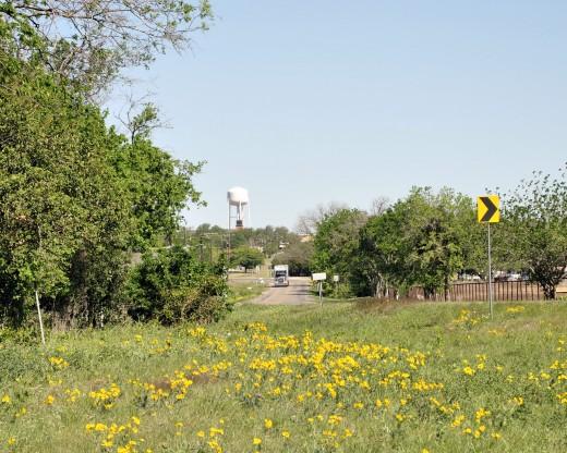 Scenic shot near Walburg, TX