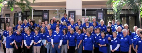 Picture of the volunteers for the 18th Annual Low Country Soup Challenge.