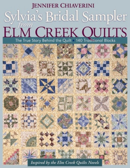 Sylvia's Bridal Sampler is a book with patterns to make a sampler quilt.