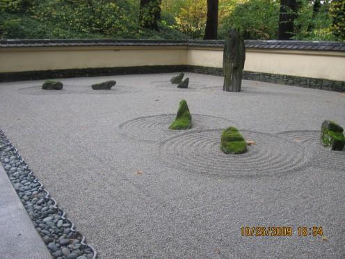 Japanese Gardens in Portland Oregon 2009