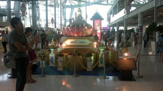 Arrival at BKK Airport