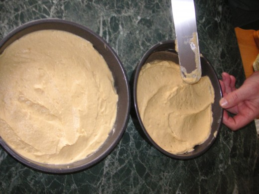Level The Mixture And Bake For 18-20 Minutes.
