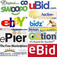 Online Auction websites