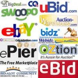 Online Auction websites