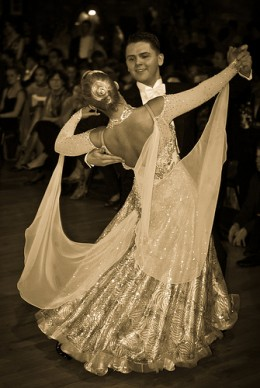 Ballroom dancing. See, they knew how to dance back then.