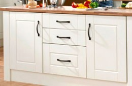 New kitchen cabinet door and drawer handles are available in hundreds of styles.