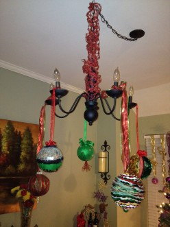 DIY Chandelier Decorations from the South
