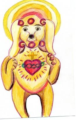 The Sacred Heart of DogGod Seeing God Lightheartedly