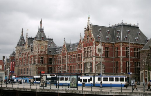 Central Railroad Station, Amsterdam