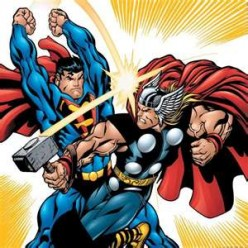 Superman and Thor: A Plausible Scenario For Their First Encounter?: (An Exercise in Speculative Fantasy)
