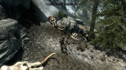 Skyrim - An open world & fantasy-inspired Role-Playing Game.