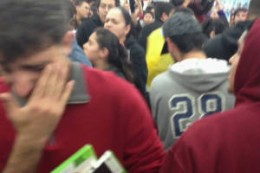 Shoppers at a Los Angeles Walmart sustained injuries after a woman pepper sprayed into the crowd in order to get to a display of Xbox games.